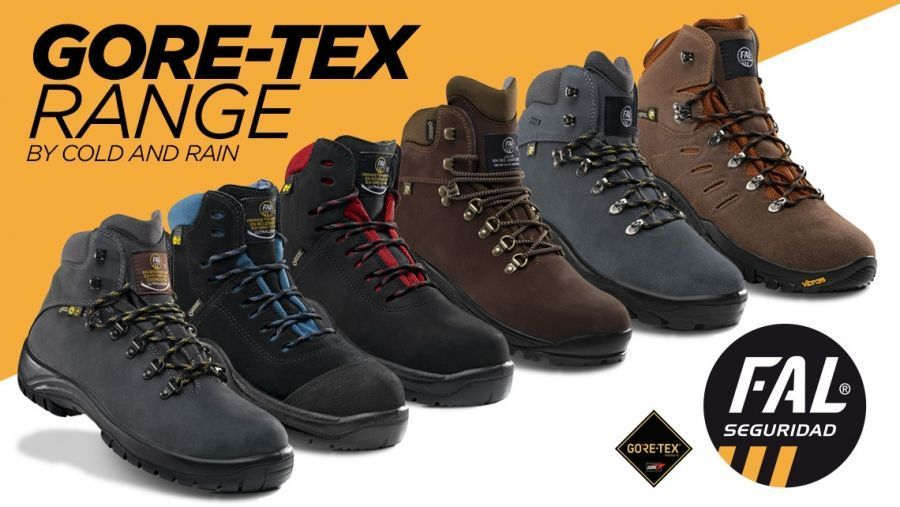 Gore-Tex Range by Fal Seguridad, for cold and rainy weather Written by Fal Seguridad
