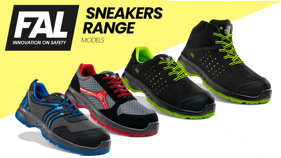 SNEAKERS by Fal Seguridad, safe and especially breathable